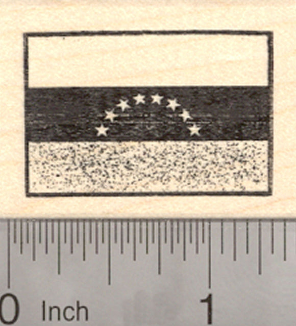 Flag of Venezuela Rubber Stamp