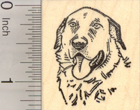 Kangal Dog Rubber Stamp, Livestock Guardian, Turkish Breed