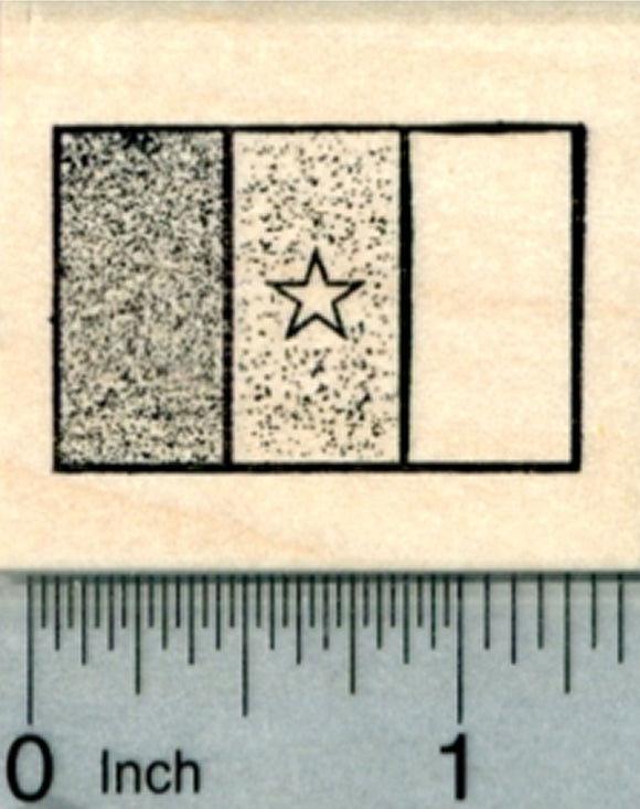 Flag of Cameroon Rubber Stamp