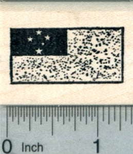 Flag of Samoa Rubber Stamp