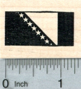 Flag of Bosnia Rubber Stamp, and Independent Republic Herzegovina