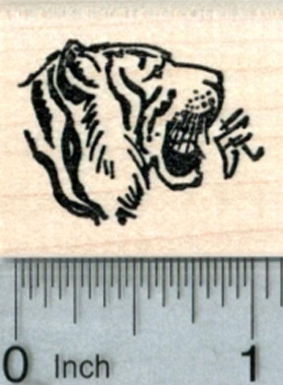 Year of the Tiger Rubber Stamp, Chinese New Year, Zodiac