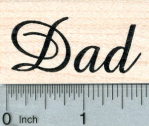 Dad Rubber Stamp, Father's Day Series