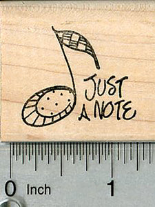 Just a Note Rubber Stamp, Music Series