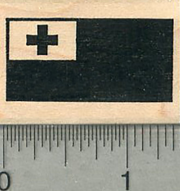 Flag of Tonga Rubber Stamp
