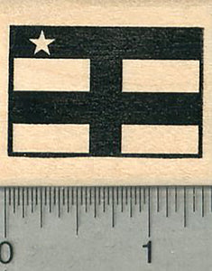 Flag of Central African Republic Rubber Stamp
