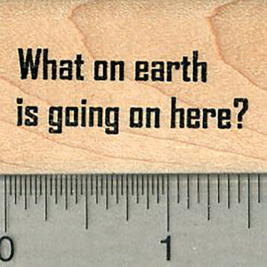 What on Earth Rubber Stamp, Planet Series