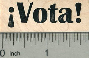 Vota Rubber Stamp, Spanish Language Election Series
