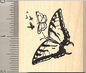 Butterfly Cluster Rubber Stamp