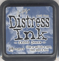 Ranger Distress Ink Pad - Faded Jeans