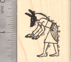 Anubis Rubber Stamp, Egyptian God