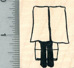 Election Booth Rubber Stamp, Voting Rights Series