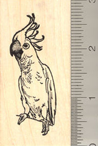 Cockatoo Rubber Stamp