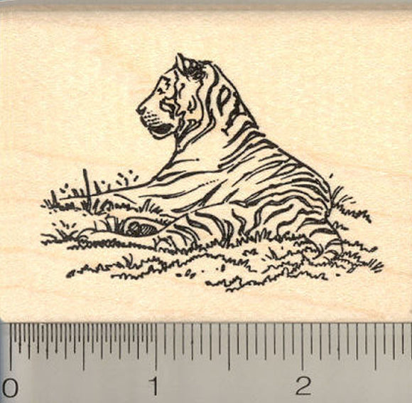 Tiger Rubber Stamp