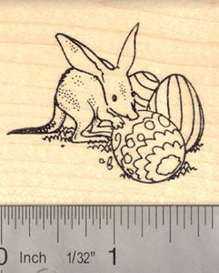 Easter Bilby Rubber Stamp (Rabbit-eared Bandicoot Marsupial) Australia