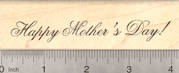 Happy Mother's Day Rubber Stamp