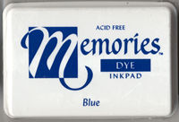Memories Dye Ink Pad - Blue