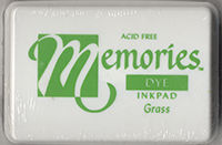Memories Dye Ink Pad - Grass