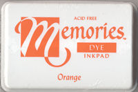 Memories Dye Ink Pad - Orange