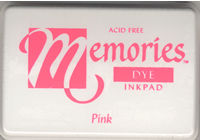 Memories Dye Ink Pad - Pink