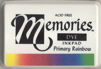 Memories Dye Ink Pad - Rainbow