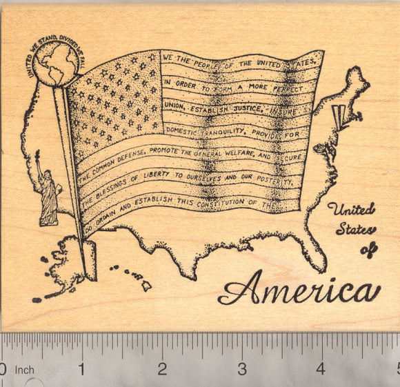 United We Stand, American Rubber Stamp