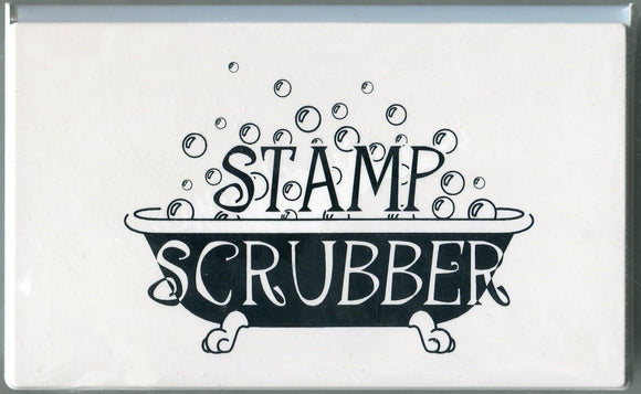 Stamp Scrubber Cleaning Pad