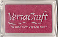 VersaCraft Ink Pad - Cherry Pink