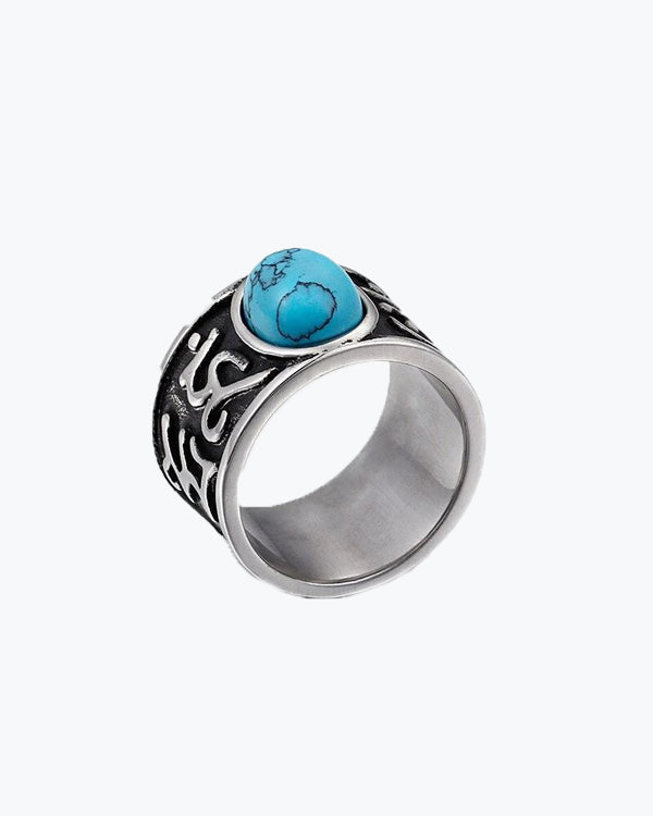 Blue-Stone Rings