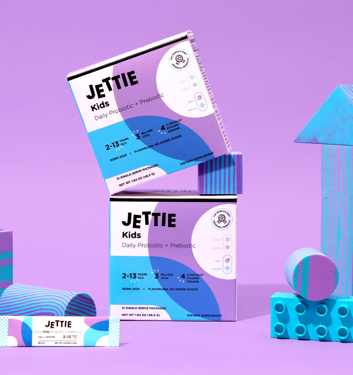 Jettie Kids Probiotic & Prebiotic for Fall/Winter