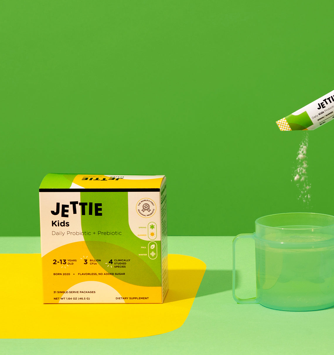 Jettie Kids Probiotic & Prebiotic for Spring/Summer
