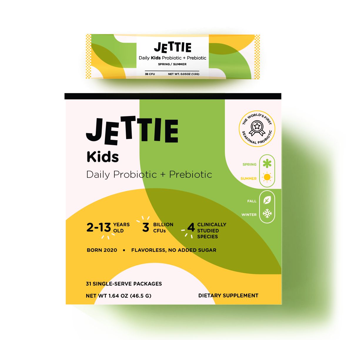Jettie Kids Probiotic and Prebiotic