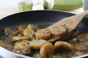 Plantains Slow Cooked in Tamarind-Mint Curry