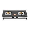 Sunshine Prime Alfa SS Double Burner Toughened Glass Gas Stove