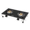 Sunshine Victory SS Double Burner Toughened Glass Gas Stove