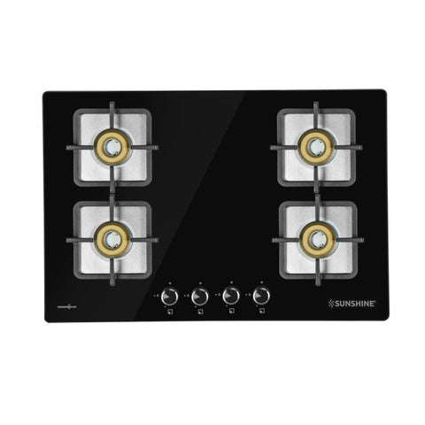 SUNSHINE BUILT-IN HOB TRONIX-784 THREE BURNER AUTO IGNITION