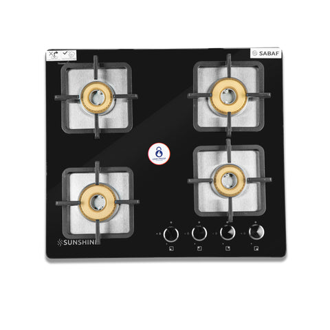 SUNSHINE BUILT-IN HOB TRONIX-604 THREE BURNER AUTO IGNITION
