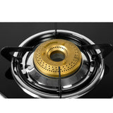 Sunshine Swift Four Burner Toughened Glass Gas Stove