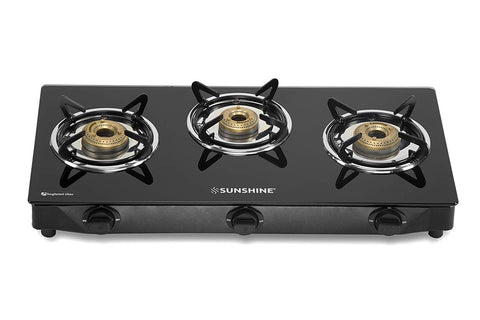 Sunshine Apollo Three Burner Gas Stove