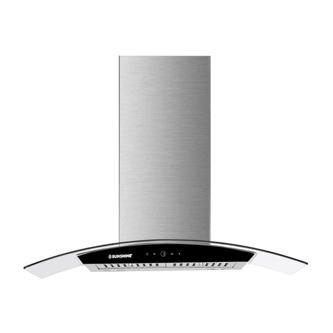 Sunshine Benlio Island/Ceiling Mounted European Kitchen Hood Chimney