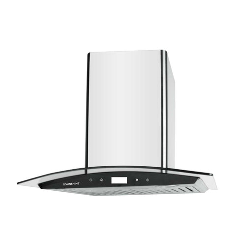 Sunshine Star-60 Wall Mounted Designer Hoods Chimney - Sunshine Super Kitchen