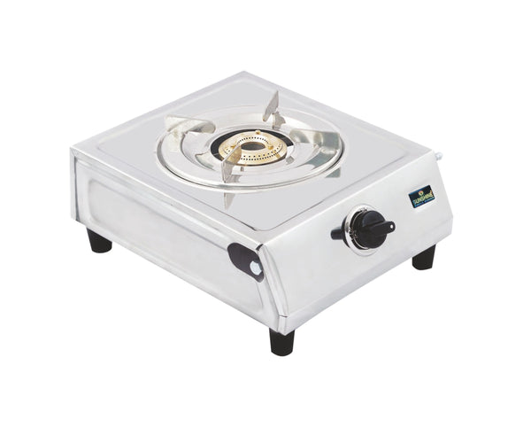 Sunshine VS-2 Single Burner Stainless Steel Gas Stove