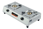 Sunshine Magic-1 Double Burner Stainless Steel Gas Stove
