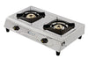 Sunshine Click Double Burner Stainless Steel Gas Stove