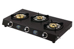 Sunshine Triple Cook Three Burner Powder Coated Gas Stove