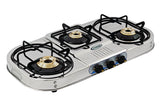 Sunshine VT-3 Step Three Burner Stainless Steel Gas Stove