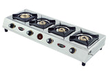 Sunshine CT-900 Four Burner Stainless Steel Gas Stove