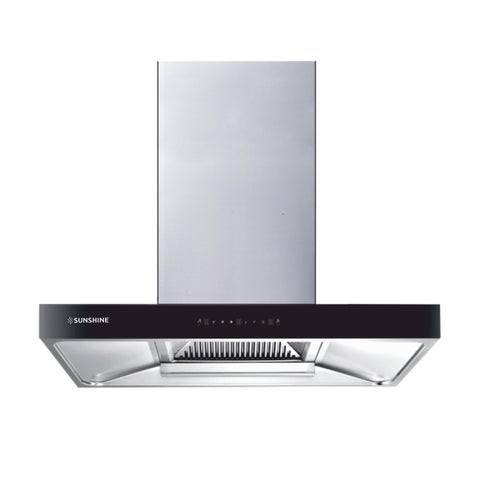 Sunshine Toneka-90 Wall Mounted Auto Clean Chimney - Sunshine Super Kitchen