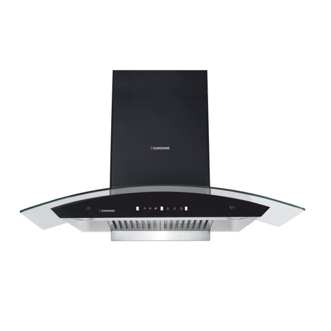 Sunshine Atlantic Plus 90 Wall Mounted Auto Clean Chimney