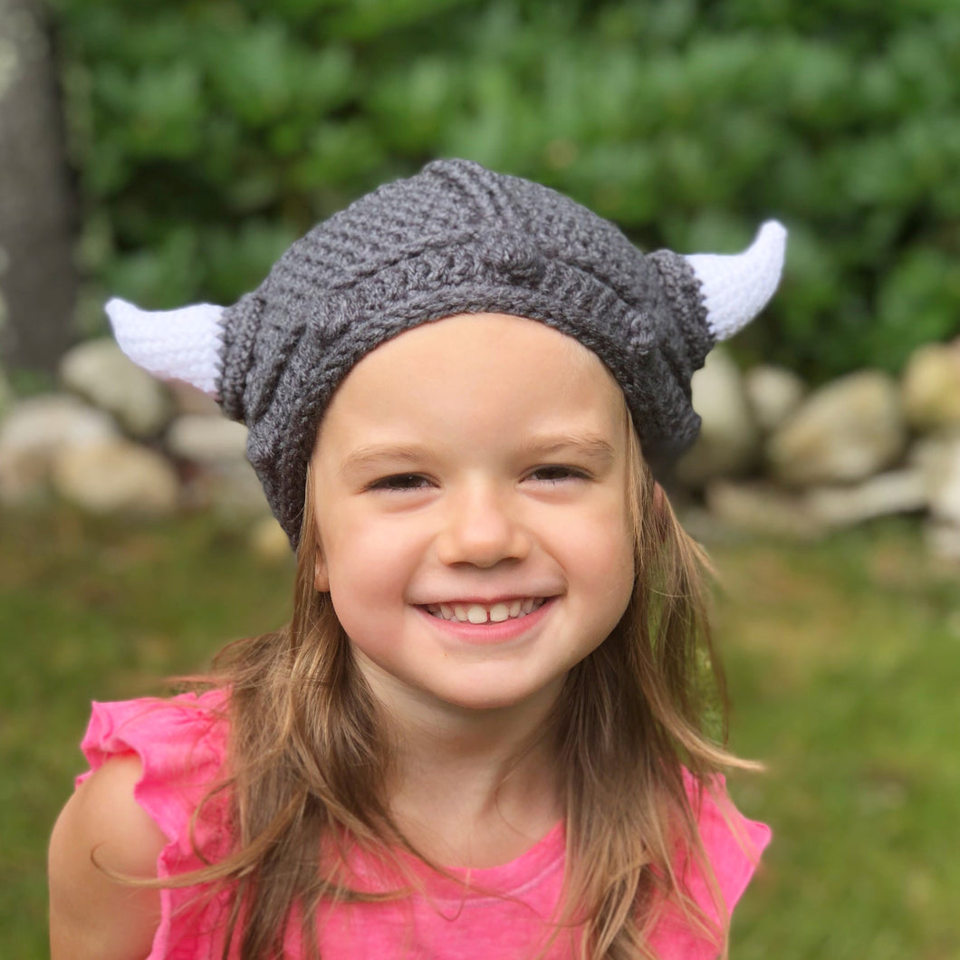 Crochet Viking Hat